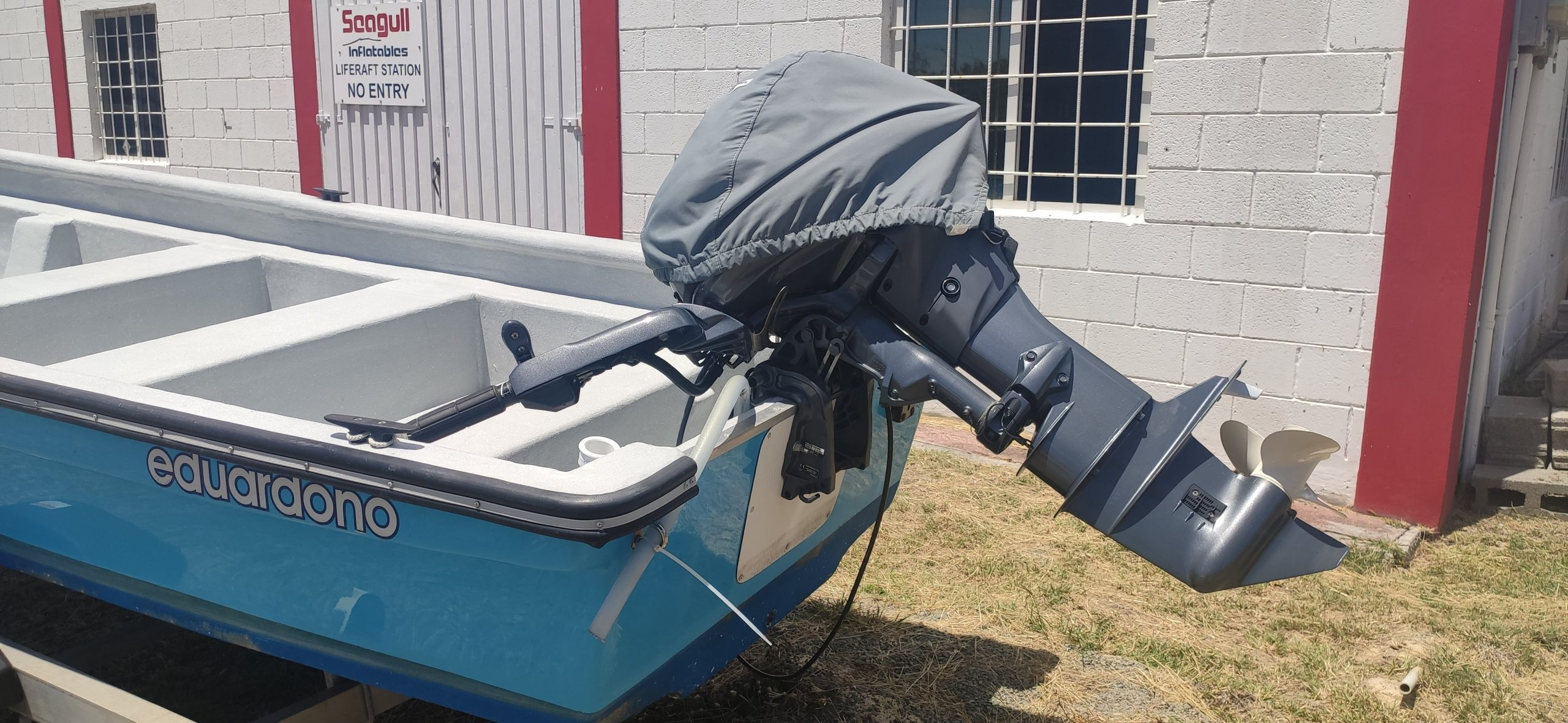 A whole lot of coastal fishing boat for the price