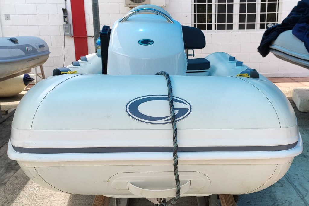 Brand new RIB perfect for the west coast or a boat with davits