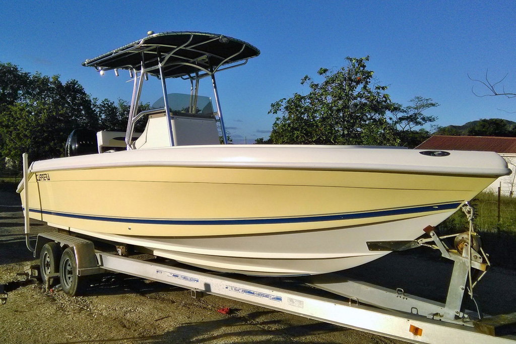 Family offshore day cruiser perfect for game fishing
